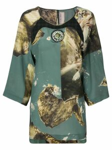 Antonio Marras printed blouse - Green