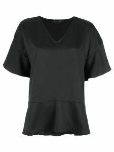 Olympiah short sleeves blouse - Black