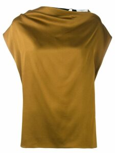 Lanvin strap back blouse - Green