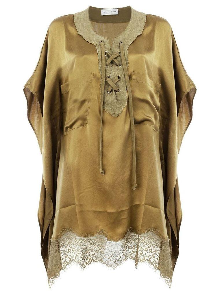 Faith Connexion drawstring blouse - Yellow