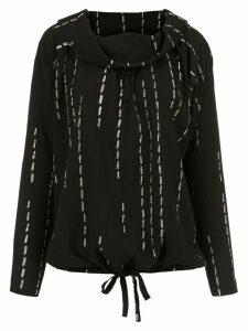 Uma Raquel Davidowicz pleated Cidra blouse - Black