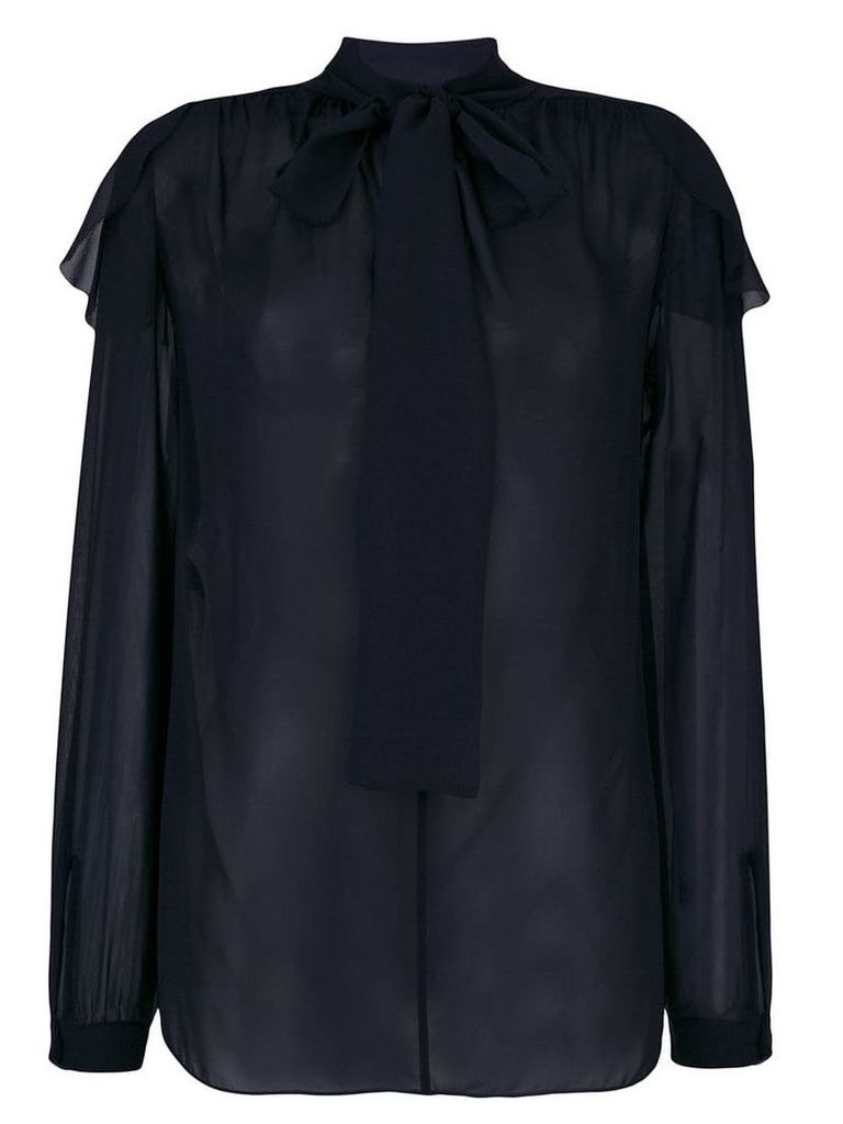 Dorothee Schumacher gather detail blouse - Blue