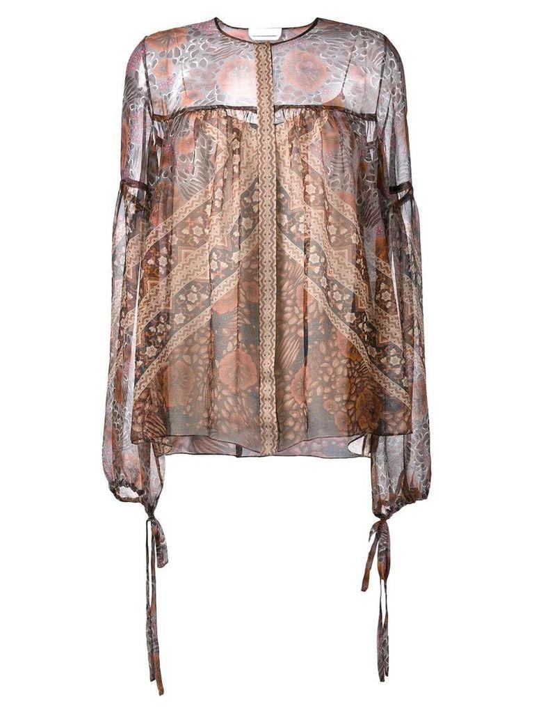 Chloé printed blouse - Multicolour