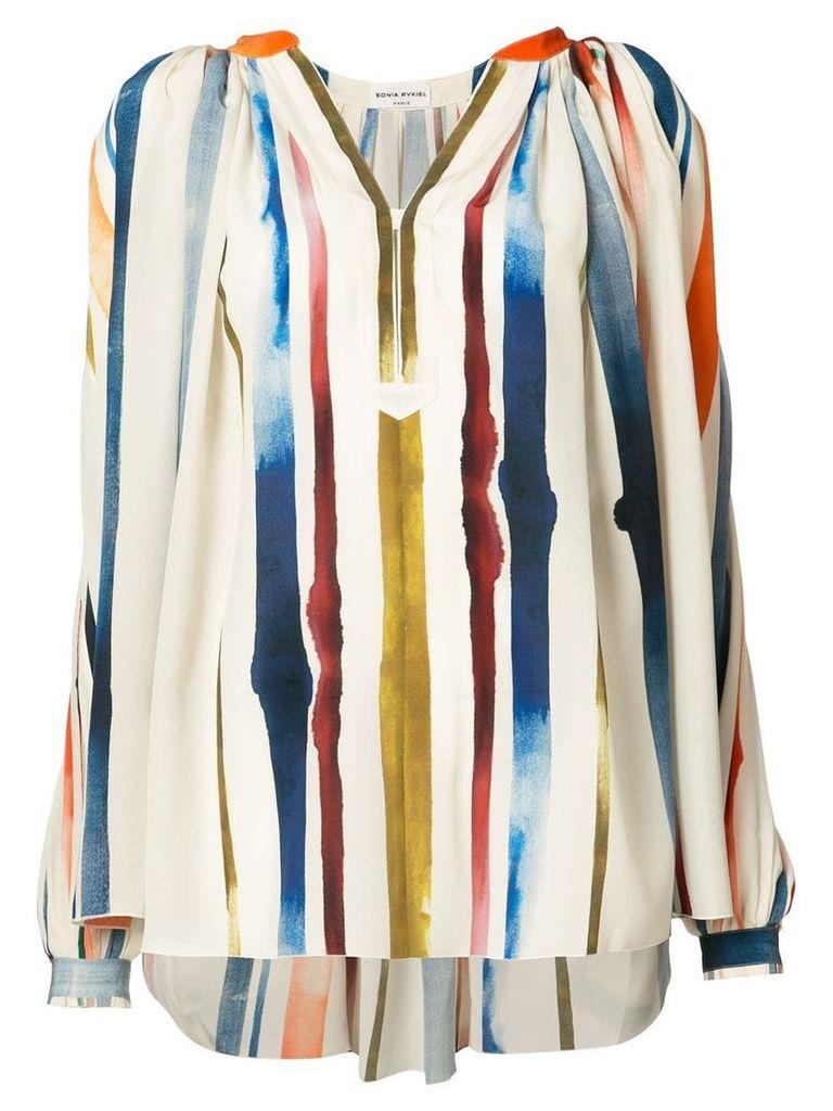 Sonia Rykiel striped top - Multicolour