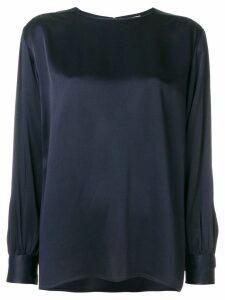 Yves Saint Laurent Pre-Owned classic shift blouse - Blue