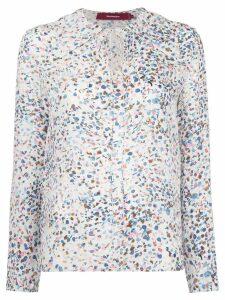 Sies Marjan printed blouse - White