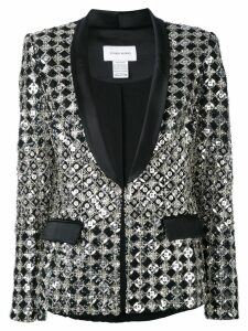 Zuhair Murad embroidered dinner blazer - Black