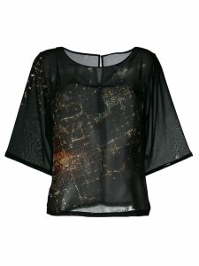 Minimarket Suffix blouse - Black
