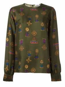 P.A.R.O.S.H. 'Soldier' blouse - Green