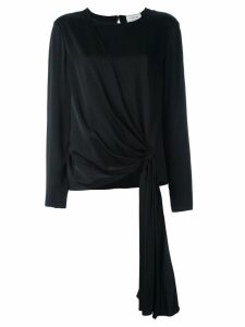 Lanvin gathered front blouse - Black