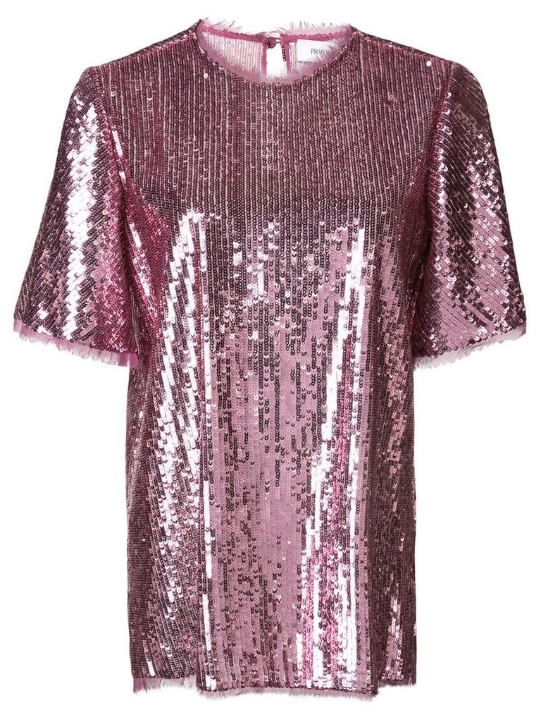 Prabal Gurung Thomson sequined blouse - Pink