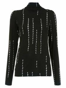 Uma Raquel Davidowicz Chicas high neck blouse - Black