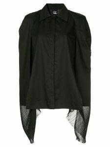 Ll By Litkovskaya Teddy Boy oversize blouse - Black