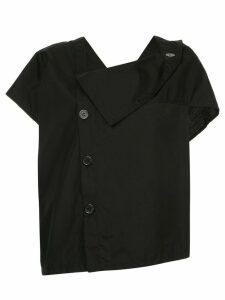 Y's cowl neck blouse - Black