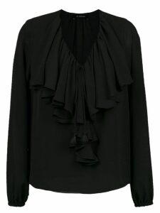 Olympiah Juli ruffled blouse - Black