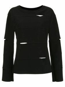 Uma Raquel Davidowicz Dinho cut out detailed blouse - Black