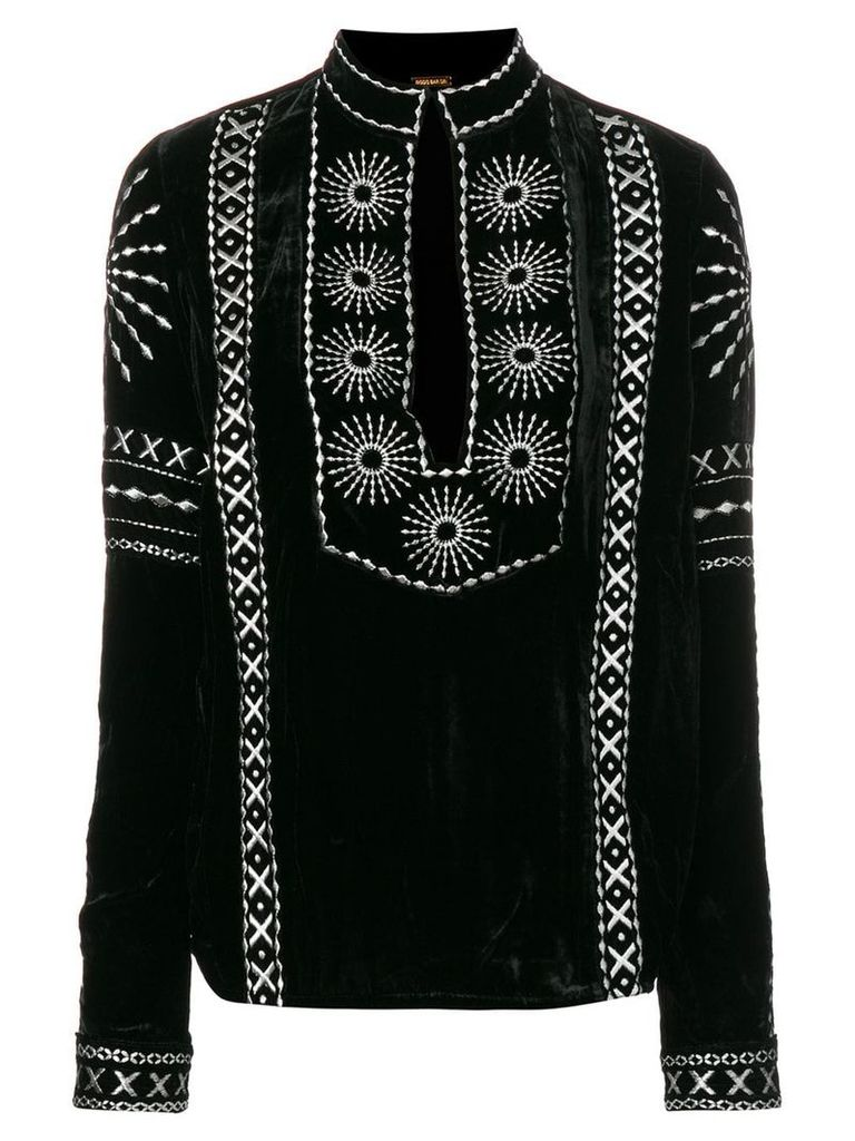 Dodo Bar Or embroidered blouse - Black