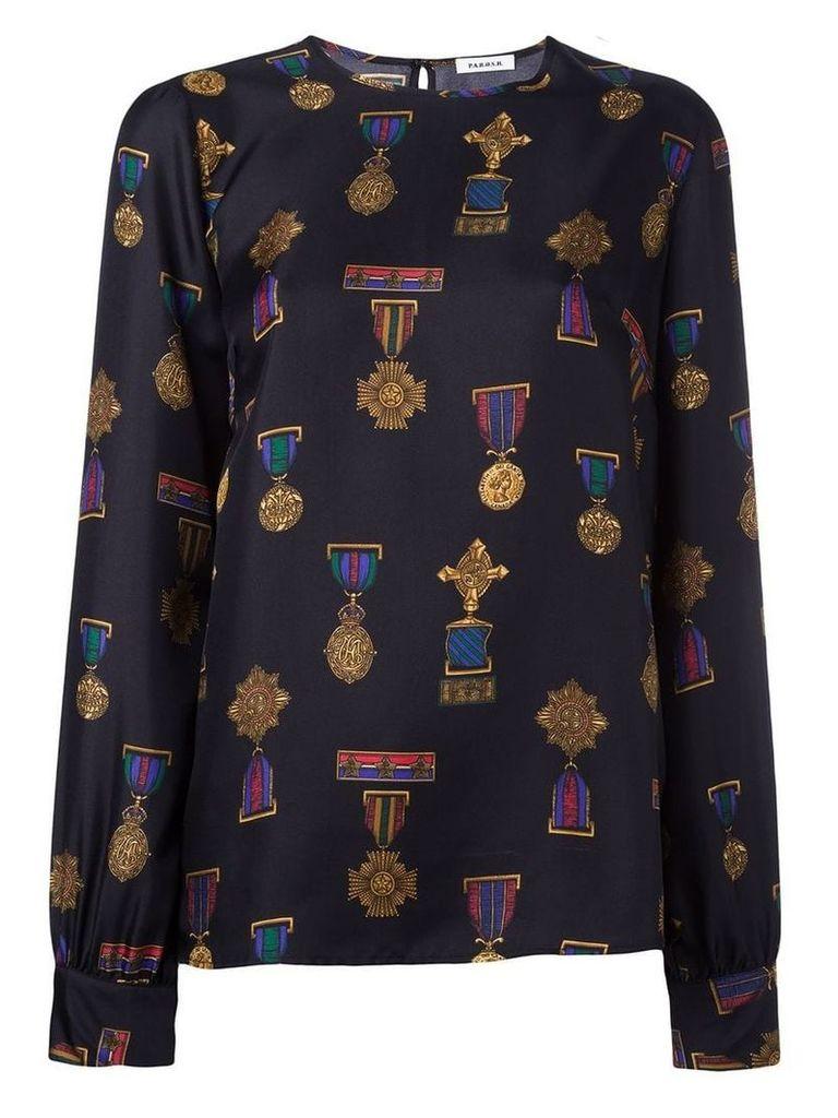 P.A.R.O.S.H. 'Soldier' blouse - Black