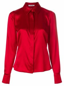 Styland front fastened blouse - Red