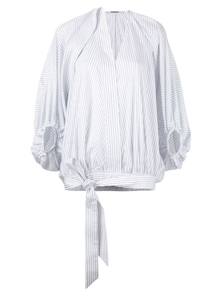 Chalayan balloon blouse - White