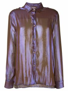 Christopher Kane buttoned shirt - Brown