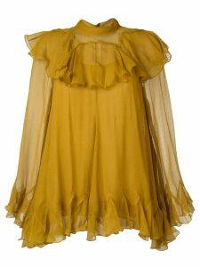 Chloé ruffled blouse - Yellow