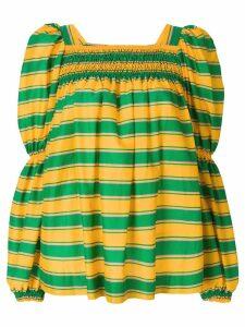 La Doublej striped blouse - Green