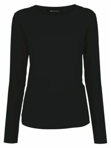 Uma Raquel Davidowicz Central wrap blouse - Black