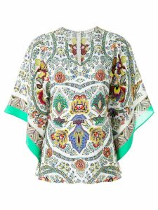 Etro printed floaty blouse - Multicolour