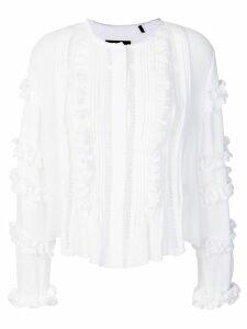 Isabel Marant Cosmos ruffled blouse - White