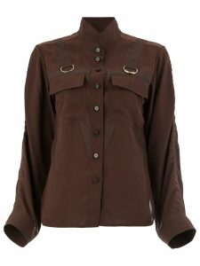 Chloé saharienne blouse - Brown