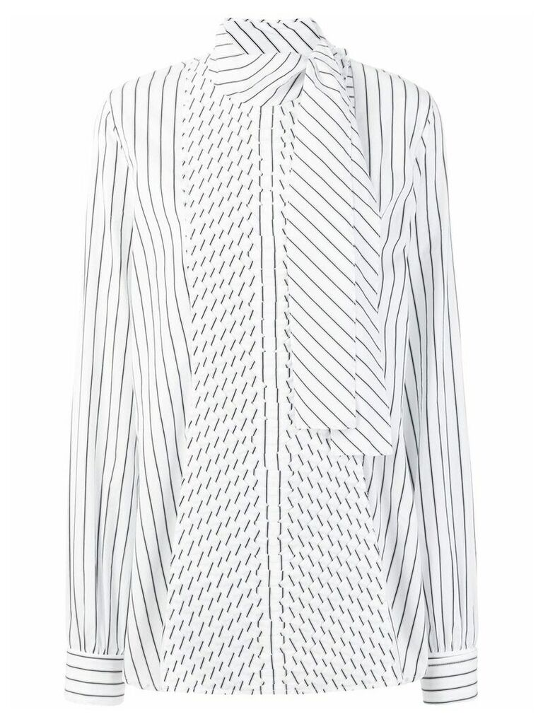 JW Anderson pleated front blouse - White