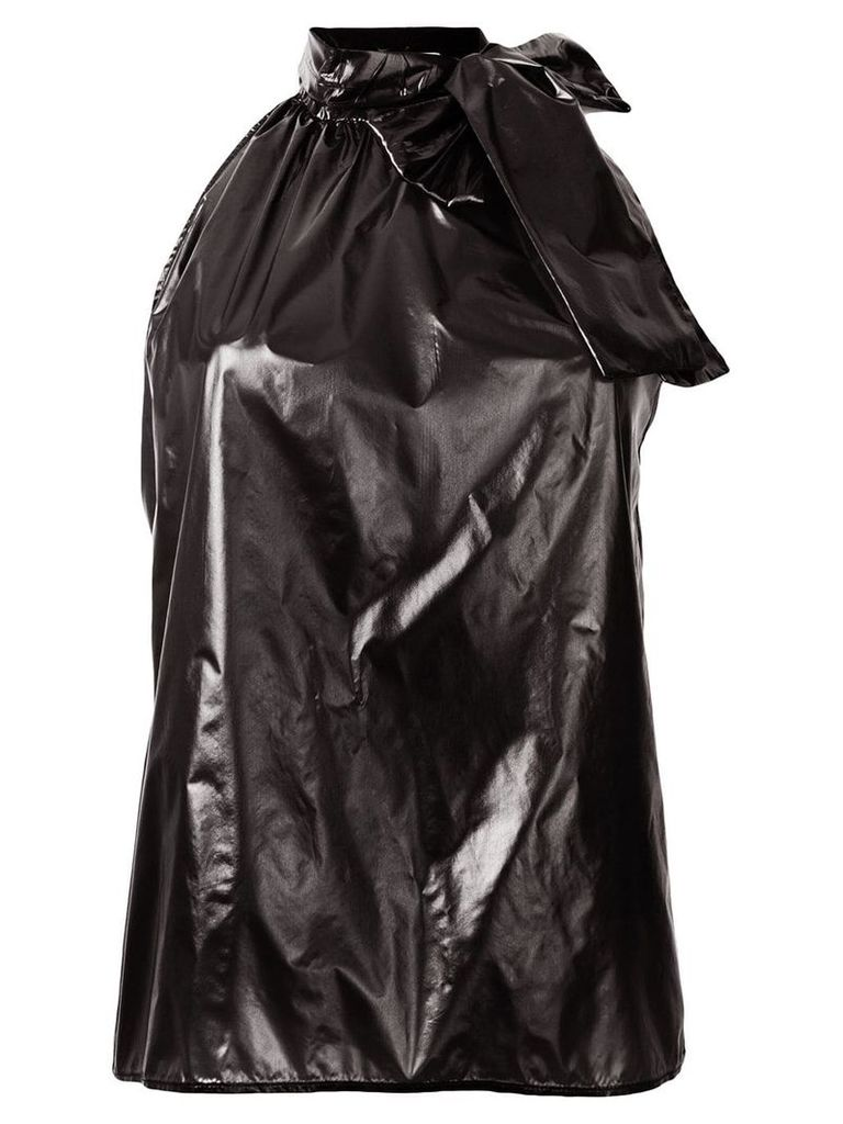 Nº21 waterproof bow blouse - Black