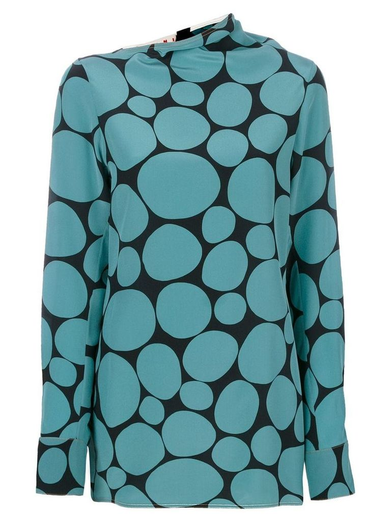 Marni mosaic top - Green
