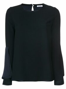 P.A.R.O.S.H. bell sleeve blouse - Blue