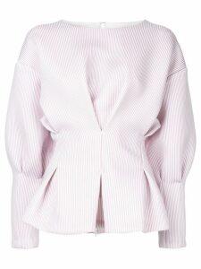Bambah pinstripe batwing top - Pink