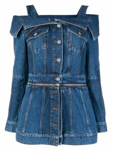 Alexander McQueen denim shirt - Blue