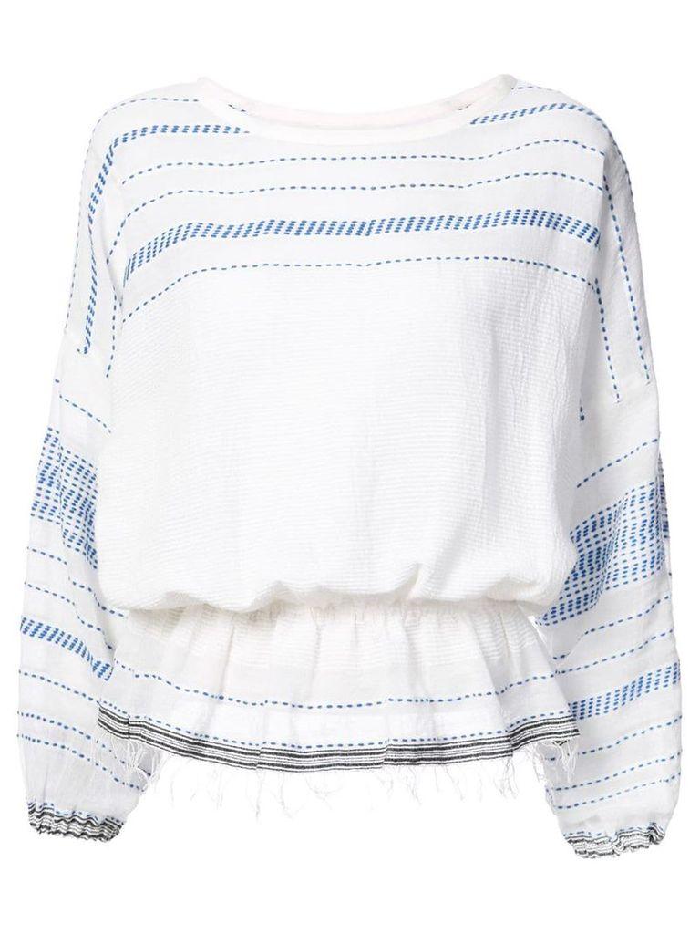 Lemlem Tiki blouse - Blue