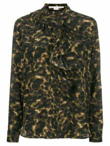 Stella McCartney leopard print blouse - Green