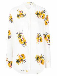 A.L.C. floral blouse - White