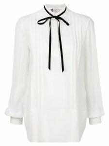 Lanvin tie neck blouse - White