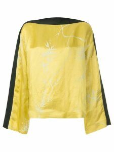 Haider Ackermann 'Dianthus' blouse - Yellow