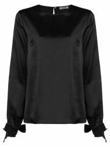 P.A.R.O.S.H. long-sleeve shift blouse - Black