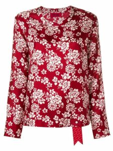 The Gigi floral print blouse - Red