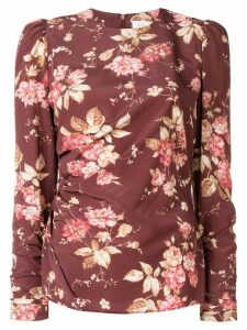Zimmermann Unbridled draped blouse - Brown