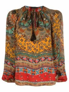 Etro printed blouse - Brown