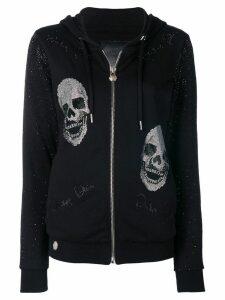 Philipp Plein I'm Still In Love zipped hoodie - Black