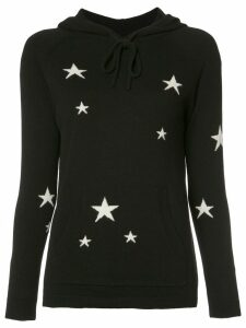 Chinti & Parker 'Star' hoodie - Black