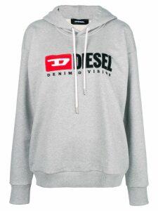 Diesel Denim Vision logo hoodie - Grey
