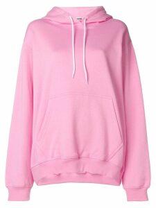 MSGM oversized hoodie - Pink